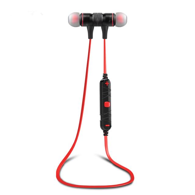 2016 Nuevo M9 Bluetooth 4.0 Inalámbrico Deporte Ejercicio Construir-en el Micrófono de Reducción de Ruido Auriculares Estéreo de Auriculares Para el iphone, Xiaomi