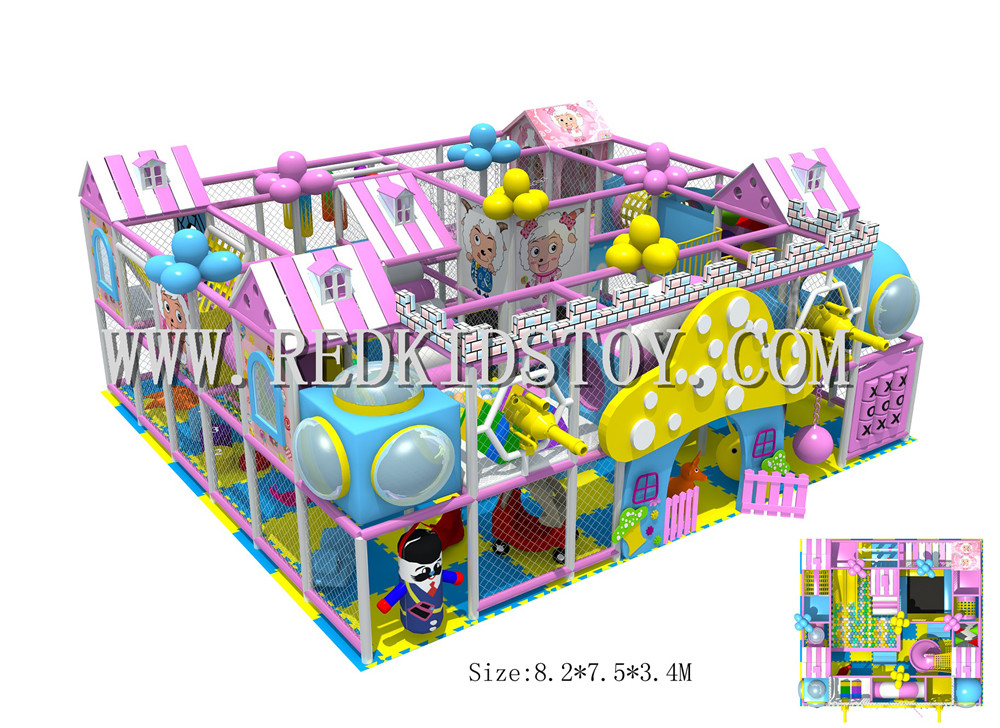 Ihram Kids For Sale Dubai: Candy Series Indoor Play Set CE Certified Indoor