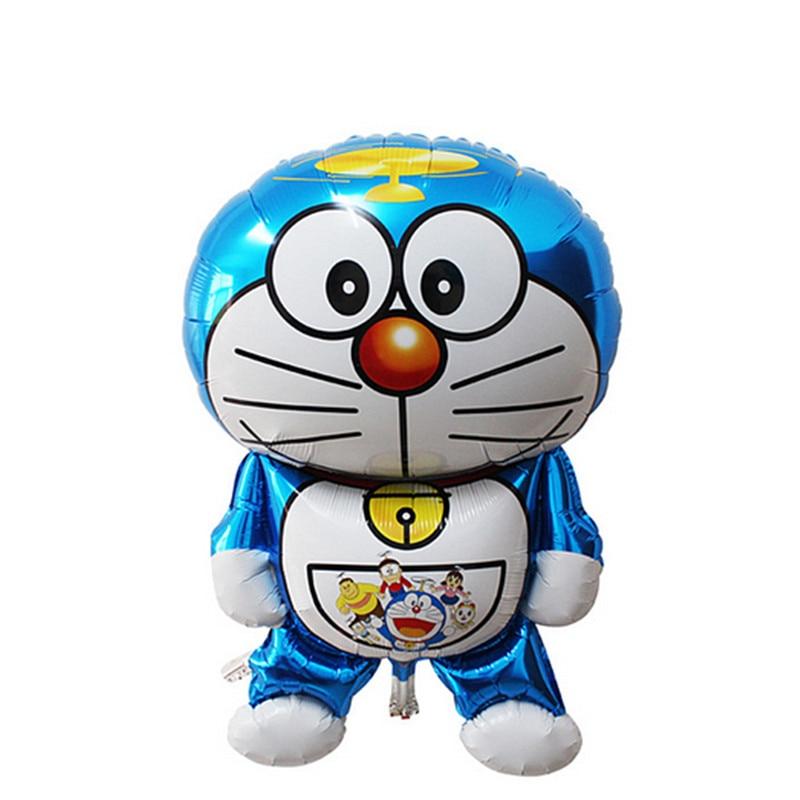 QGQYGAVJ The new 105cm*66cm childrens toys birthday party balloon decoration foil balloons wholesale oversized Doraemon