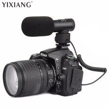 Yixaing оптовая продажа высокое качество Full Metal на камеры stereovideo микрофон интервью микрофон с ударно-крепление для DSLR Камера