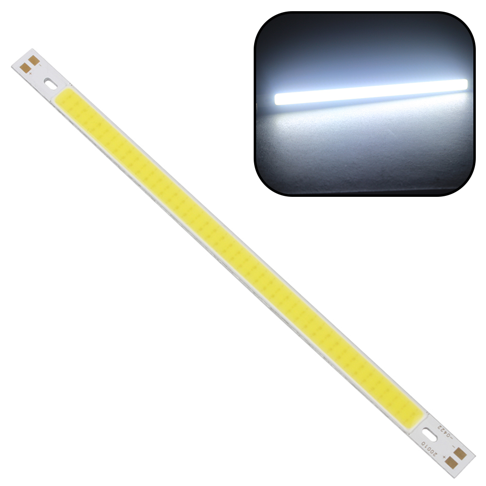 200 x 10MM High Quality For DIY 12V - 14V Warm White Pure White LED Strip Light Lamps Bulb Super Bright 10W 1000LM COB #KF 120mmx36mm warm white pure white cob led strip lamp lights bulb 10w 1000lm super bright 12v 24v for diy high quality