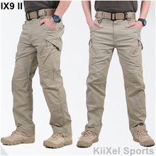 2017 IX9 II Männer Militar Taktische Hosen Kampfhose SWAT Armee Military Hosen Mens Cargo Freien Hosen Casual Baumwollhosen