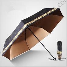 Anti-thunder fiberglass windproof 5 times colour coating anti-UV parasol pocket Twelve constellations digital 3D print umbrella