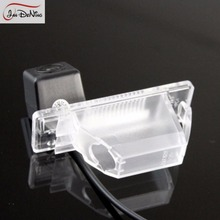 JanDeNing HD CCD Car Rear View Parking/Backup Reverse Camera License Plate Light OEM For Nissan Qashgai J10/Dualis J10 2007-2013
