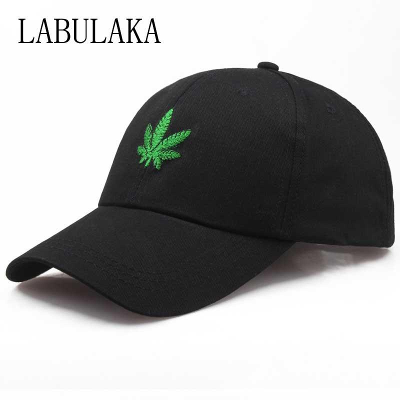 Fashion Weed   Caps   Snapback Hip Hop Dad Hats Embroidery   Baseball     Cap   For Women Men Summer Visor Trucker Hat Adjustable Bone   Cap