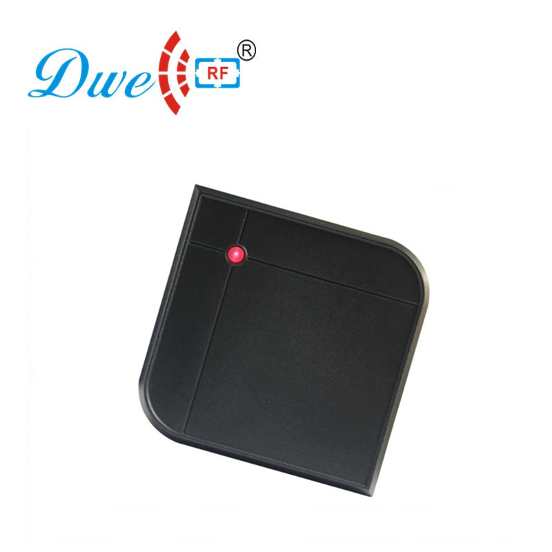 DWE CC RF Access Control Card Reader 13.56mhz Rfid Proximity Waterproof Smart Card Reader Scanner D601A-M dwe cc rf access control card reader rfid reader arduino 9 24v waterproof swipe gate proximity card reader