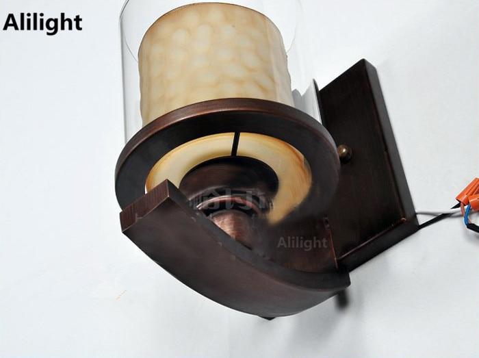 Rail Verlichting Woonkamer : Amerikaanse wandlamp mode bed verlichting vintage woonkamer