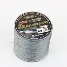 300m Fishing line 8 strands braided fishing sinking line PE Braid line 8 threads for winter ice fishing tackle china supplier
