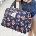 2016 Nova Moda Sacos de Viagem Bagagem Bolsa das Mulheres da Cópia Floral Das Mulheres Sacola de Viagem Sacos de Grande Capacidade
