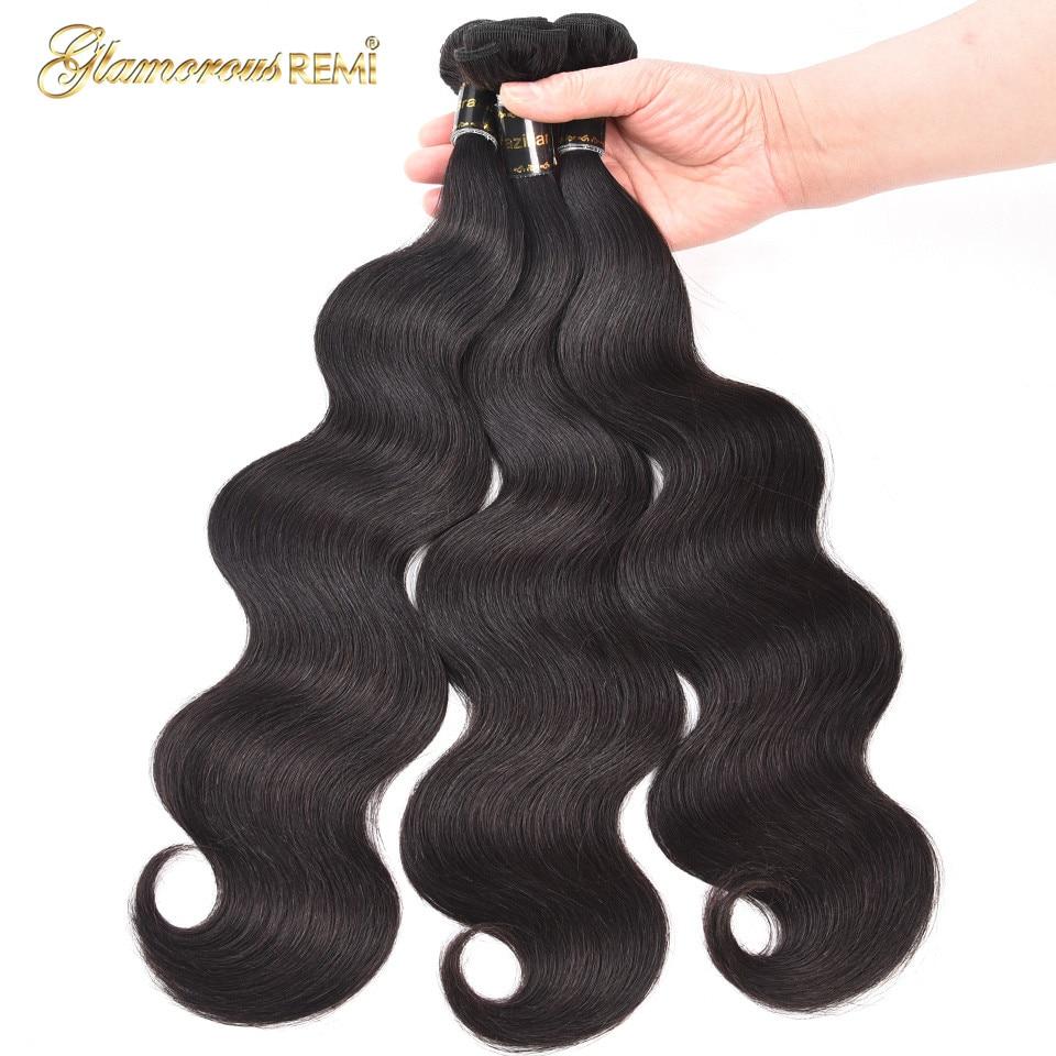 Körper Welle 1 3 4 Bundles Brasilianische Remy Haar Körper Welle Menschliches Haar Schuss Natürliche Farbe Brasilianische Menschliches Haar Weben Freies Verschiffen