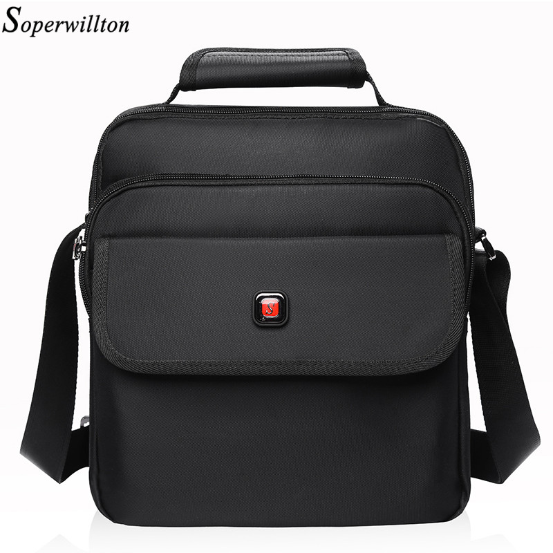 Мужская сумка Soperwillton, водонепроницаемая Тяжелая Защитная Хлопковая мужская сумка мессенджер, сумка на плечо для мужчин и женщин #1057 bag tote shoulder bagsmen messenger bags   АлиЭкспресс