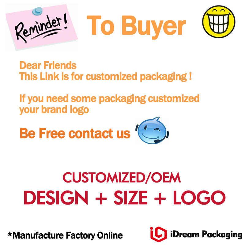 Embalagem Saco de papel Com Punho Liso populares. Aparência elegante para roupas Headwear MOQ500pcs