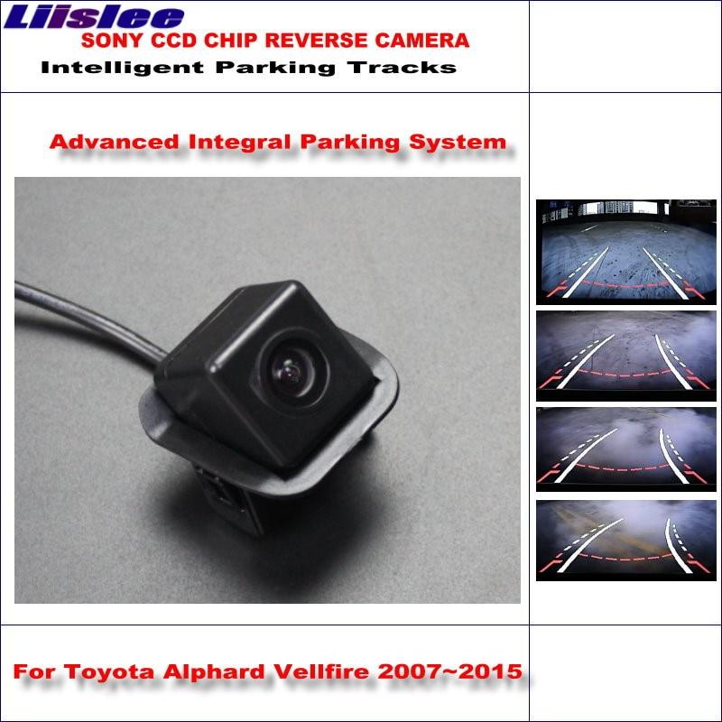liislee backup rear reverse camera for toyota alphard vellfire 2007~2015 /  hd 860 pixels