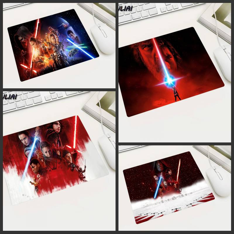 XGZ Custom Star Wars Rubber Rectangle Game Mouse Pad 22X18/25X20/29X25CM Office Computer Computador Gamer Gaming PC MousePad image
