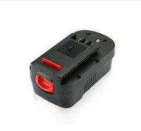 18V 3000mAh Battery for Black Decker A1718 A18 HPB18 CDC180AK CDC180ASB CDC18GK2 Rechargeable Ni CD