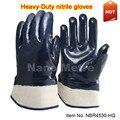 NMSafety oilproof heavy duty рабочие перчатки, полный покрытием три погружения импорт нитриловые, тумак безопасности ГОРЯЧАЯ