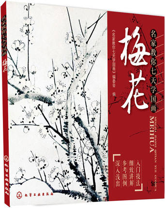 Plum flower China Chinese Painting Book 45 Page