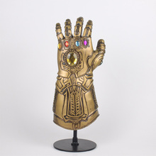 Avengers Thanos Mask Avengers Infinity War Gloves Superhero Cosplay Costumes Mask Gloves Halloween Party Props Adlut Gift