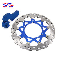 320MM Front Floating Brake Disc Rotor & Adapter For YAMAHA YZ125 YZ250 YZ250F WR250F WR426F YZ426F WR450F YZ450F WR125 WR250