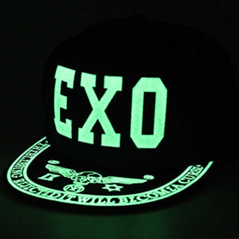 c9e9e69289a4e4 2019 Graffiti Baseball Cap Hip Hop Fluorescent Light Snapback Caps Men  Casquette Women Girl Noctilucence Hats