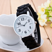 Elegant New Watch Girls Silicone Movement Quartz Watches ladies wristwatch relogio feminino bayan kol saati
