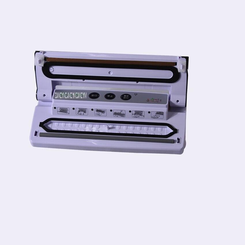 все цены на 1piece Best household food preservation Vacuum Sealer Home kitchen bag seal packing machine онлайн