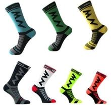 High Quality Professional Brand Sport Socks Footwear Breathable Road Bicycle Socks Outdoor Sports Racing Cycling Men Socks все цены