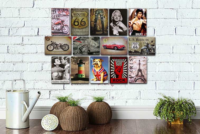 1 piece Michael Jackson Singer Celebrity Dancer sign Tin Plate Sign wall Room man cave Decoration Art Dropshipping Poster metal in Plaques Signs from Home Garden