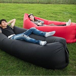 Image 5 - אוויר מתנפח נסיעות מזרן מיטת אוניברסלי עבור מושב אחורי רב תפקודי ספה כרית כרית מחצלת
