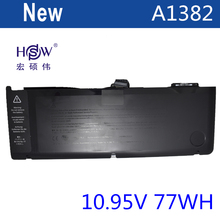 laptop battery for APPLE A1382,020-7134-01,661-5844 MC723LL/A & MC721LL/A A1286 for Macbook Pro 2011 version стоимость