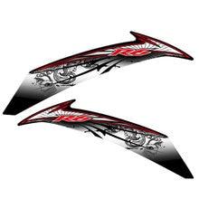 Carro motocicleta de alta qualidade Reflexiva etiqueta fit para yamaha r6 conjunto Completo de adesivos