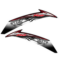 Motorcycle car high quality Reflective sticker fit for yamaha r6 Full set of stickers