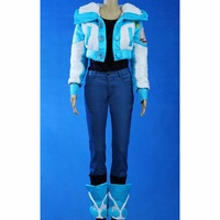 DRAMAtical Murder DMMD Aoba Seragaki Cosplay Costume Mens Fancy Party Cosplay Jacket Pants T-shirt Shoe Covers Costume L0516