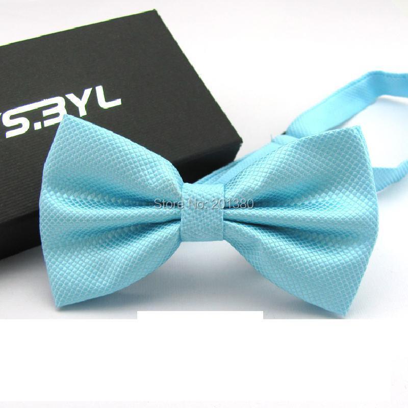 17 Solid color bowtie men Bow Tie Fashion butterflies white black blue 1