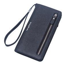 2016 Nouvelle marque femmes de portefeuille, à grain long de designer de haute qualité sac à glissière pour la dame Vintage Embrayage téléphone sac livraison gratuite