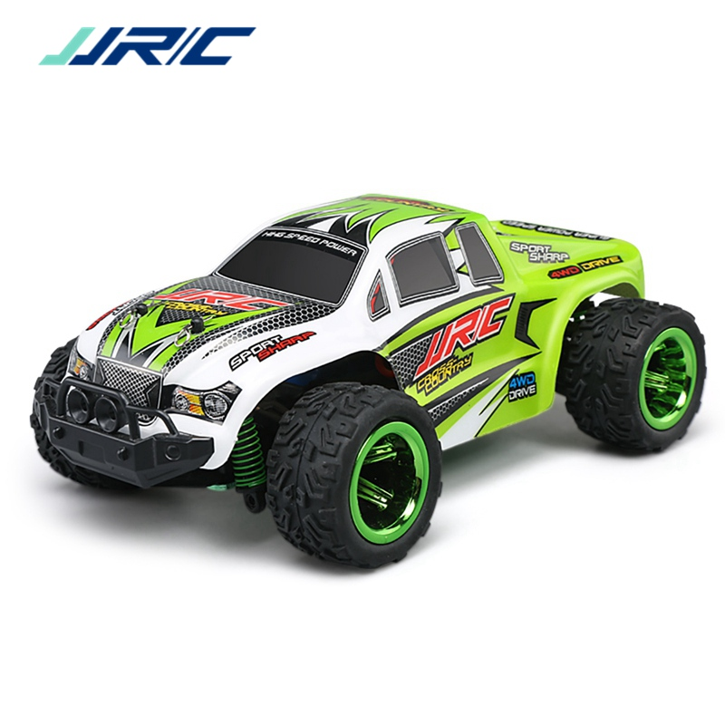 JJRC Q35 2018 1:26 High Speed 4WD 30KM/H Off Road Racing Car Toy RC Car Powerful Motor RTF Rc Mini Monster Truck Climbing Toys high speed laser light swivel mini toy car