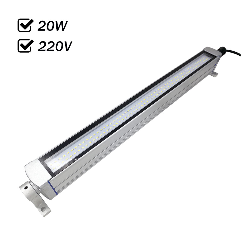 Factory Outlet 20W 220VAC Waterproof Led Panel Light CNC Machine Tools Lighting All Aluminum Shell Anti-oil Explosion-proof IP67