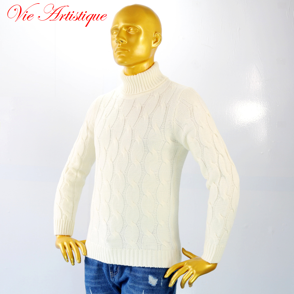 Popular Men's White Cardigan Sweater-Buy Cheap Men's White ...
