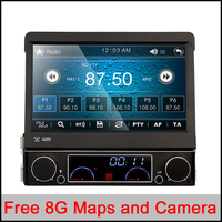 Universal 7 Touch Screen HD Dvd Player Car Audio GPS Navigator 1din Stereo Audio DVD Automotivo