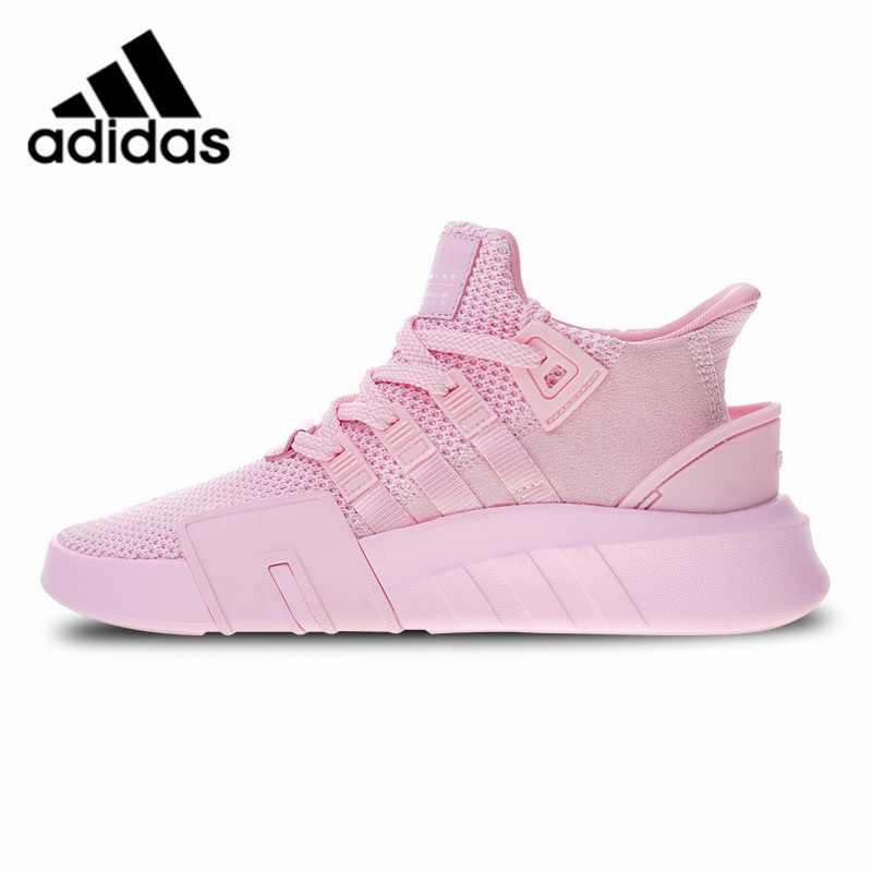 official photos 42142 0b9d4 US $104.83 30% OFF|Adidas EQT BASKETBALL ADV Running Shoes Pink Sneakers  Classic for Women AC7352 EUR Size W-in Running Shoes from Sports & ...