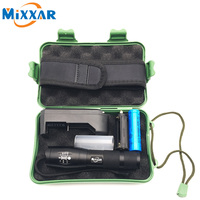ZK10 LED Flashlight Tactical CREE XM L T6 4000LM LED Torch Zoomable Aluminum Alloy Flashlight Torch