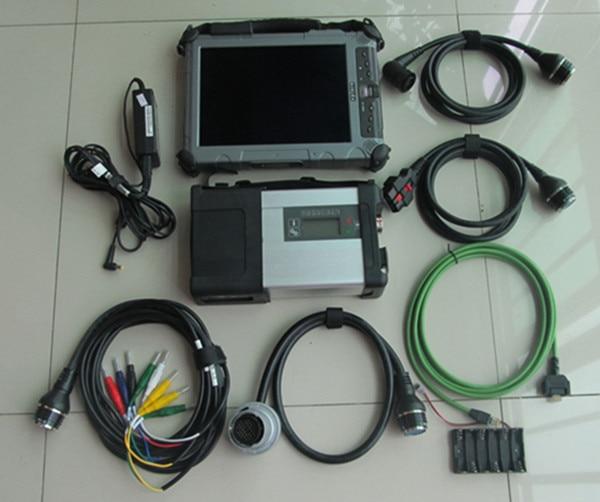 Авто диагностики ноутбука IX104 i7 Tablet PC с SD Connect C5 + MB Программное обеспечени ...