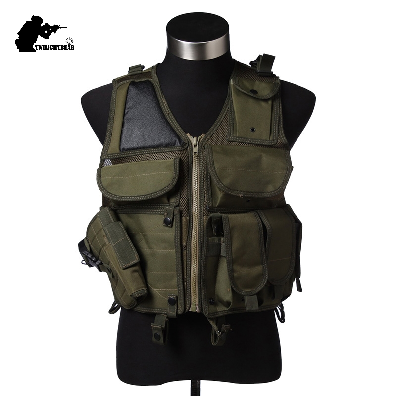 Military Reticularis 903 Tactical Vest Ver5 TACTactical Vest CS Play Paintball Army Protective Vest Police Equipment BE903