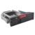 2.5 + painel de alumínio 3.5in SATA hdd rack móvel com portas USB