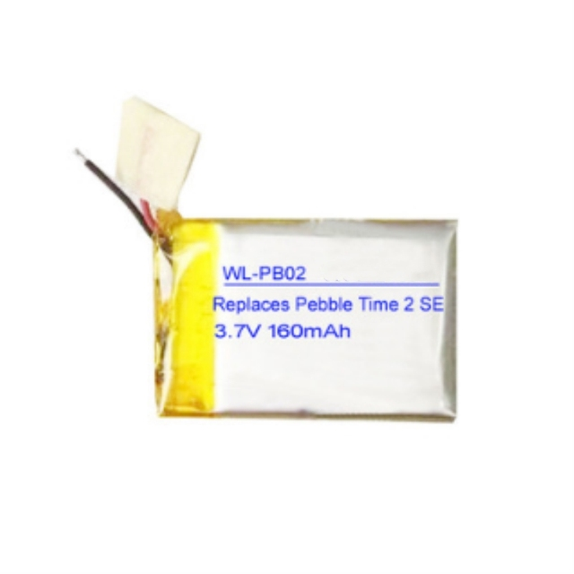 TTVXO 160mAh for Pebble Time 2 Battery Smartwatch LSSP441522AE Pebble Time Battery