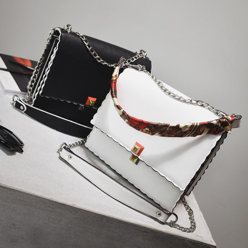 Kadın çanta Moda katmanlı Atkılar Zincir çanta Yüksek Kalite - Çanta - Fotoğraf 4