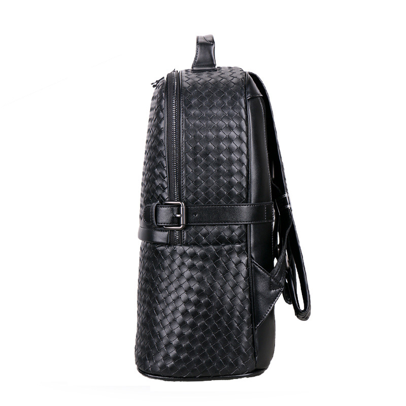À Nouvelle Luxe Portable Sacs De Étudiant Sac Ordinateur Marque Mode Noir Naturel Réel Véritable Garçon 100 Hommes Armure Cuir Dos En r0arwH