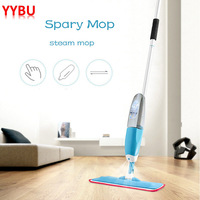 YYBU Steam Spray Mop House Cleaning Brush Home Floor Steam Cleaner Flexible Rotated Floor Cleaning Flat Mop Floor Cleaning Tool