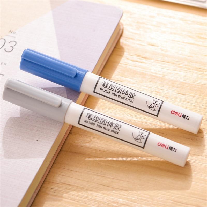 Pen Type Solid Glue Creative Office Solid Glue Stick Primary School Children's Manual Class Glue