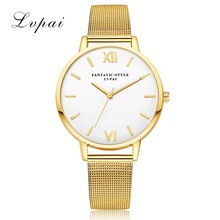 2017 New Luxury Alloy Quartz Watch Women Gold Stainless steel Dress Wristwatches Clock Ladies Fashion Casual Sport Watches XFCS